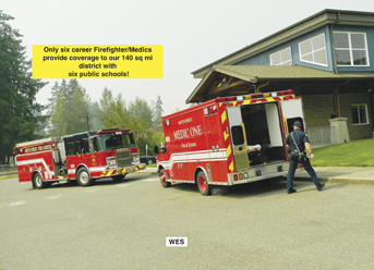 South Pierce Fire and Medic has browned-out stations due to a decrease in tax funding.