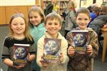 Ohop Grange continues tradition of donating dictionaries to local third graders